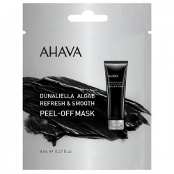 Masca exfolianta din alge Ahava Dunaliella Peel Off Mask, 8 ml