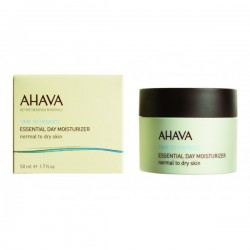 Crema hidratanta de zi Ahava Essential Day Moisturizer ten normal-uscat, 50 ml