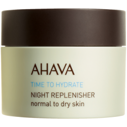 Crema de noapte pentru ten normal-uscat Ahava Night Replenisher Normal to Dry Skin, 50 ml