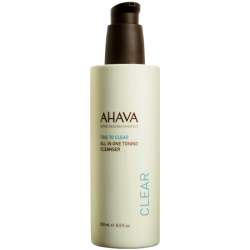 Crema de curatare a fetei 3 in 1 Ahava All in One Toning Cleanser, 125 ml