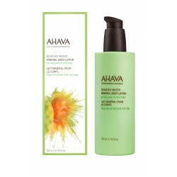 AHAVA-MINERAL BODY LOTION PRICKLY PEAR & MORINGA