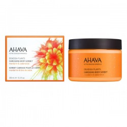 Crema-gel de corp Ahava Caressing  Body Sorbet Mandarine & Cedarwood, 350ml