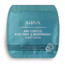 AHAVA- AGE CONTROL EVEN TONE & BRIGHTENING SHEET