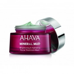 AHAVA- BRIGHTENING & HYDRATING FACIAL TREATMENT MASK 50 ML