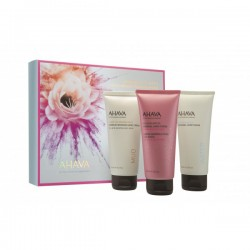 Kit creama de maini Ahava Kit Trio Hand Cream, 3x100ml