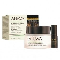 Crema de zi antirid Ahava Extreme Day Cream 50ml + mostra Osmoter Ochi 5ml