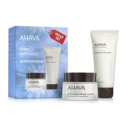 Kit Duo Masca si Gel Perfect Partners Active Hydration  Ahava 100ml+50ml