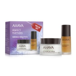 Kit Duo Crema noapte si zi antirid Perfect Partners Wrinkle Reduction Ahava, 30ml+50ml