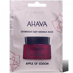 Masca de noapte pentru riduri adanci Ahava Single Use, 6ml
