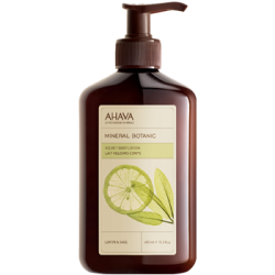 Lotiune de Corp Ahava Mineral Botanic Body Lotion Lemon & Sage, 400ml