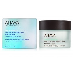 Crema anti-imbatranire Ahava Age Control Even Tone Moisturizer Broad Spectrum SPF 20, 50ml