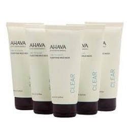 Masca din namol Ahava Kit Purifying mud mask X 5, 100ml