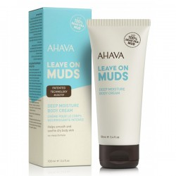 Crema de corp pe baza de namol  Ahava Leave on Muds 100 ml