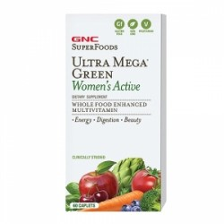 GNC SuperFoods Multivitamine Ultra Mega Green Women`s Active
