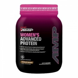 GNC Pro Performance AMP Proteina Avansata pentru Femei cu Aroma de Briosa cu Ciocolata, 795 g