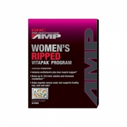GNC Pro Performance AMP Women Ultra Mega Ripped Vitapack Program, 30 Pachetele