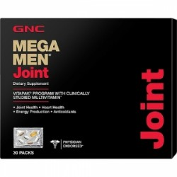 GNC Mega Men Joint Vitapak - Program pentru Sanatatea Articulatiilor, 30 Pachetele