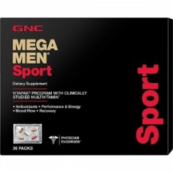 GNC Mega Men Sport Vitapack Program 30 Pachetele