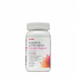 GNC Women`s Ultra Mega Suport Diabetic, 90 Tablete