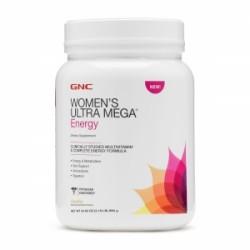 GNC Women's Ultra Mega Energy cu Aroma de Vanilie, 990 g