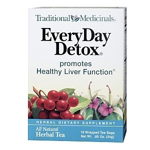 TRADITIONAL MEDICINALS EVERYDAY DETOX 16 PLICULETE