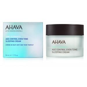 Crema de noapte anti imbatranire Ahava Age Control Even Tone Sleeping Cream, 50 ml