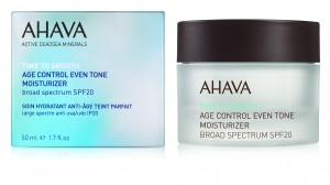 Crema anti-imbatranire Ahava Age Control Even Tone Moisturizer Broad Spectrum SPF 20, 50ml