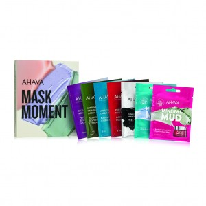 Set 7 masti de fata Ahava Kit Mask Moment