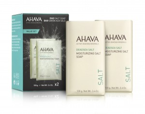 AHAVA-KIT DUO DOUBLE MOISTURIZING SALT SOAP