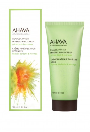 AHAVA-MINERAL HAND CREAM PRICKLEY PEAR & MORINGA