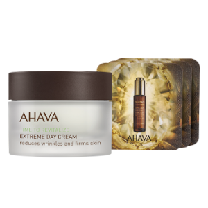 AHAVA-EXTREME DAY CREAM + SAMPLE CRYSTAL OSMOTER*3