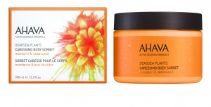 AHAVA-CARESSING BODY SORBET MANDARINE CEDARWOOD