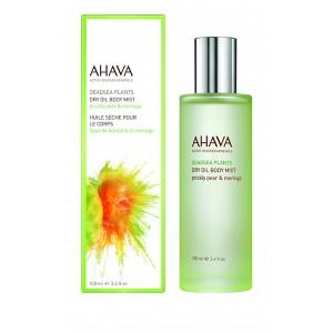 Ulei uscat pentru corp Ahava Dry Oil Body Mist Prickly Pear & Moringa, 100ml