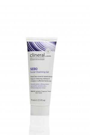 CLINERAL- SEBO FACIAL CLEANSING GEL